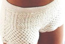 Shorts Croche