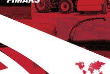 Fimaks - Implementos Agrícolas / Fimaks es la mayor empresa de maquinaria agrícola en Turquía, fundada en 1975 con 200 empleados y modernas instalaciones de producción, exportamos 50% de nuestra producción a 77 países de todo el mundo. Nuestros principales productos son Mezcladoras, Cosechadoras de Maíz, Cosechadoras de Forraje, Esparcidores de Estiércol y Rastrillos Rotativos y más. Proporcionamos 12 meses de garantía internacional sin límites y con servicio post-venta.