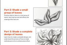 Shading zentangles