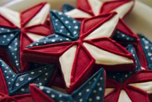 4th of July sugar cookies / by Jennifer Refior