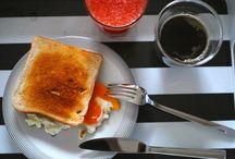 samstagskaffee / Frühstück und Kaffee