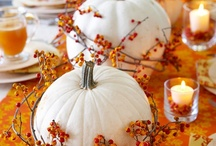 Fall Decorating and Entertaining / by Vicki Payne