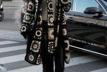 crochê casaco