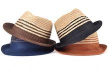 HANDMADE straw knitted hat