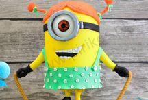 minion cakes / minion cakes