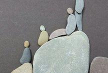rodina z kamínků