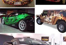 Vehicle Wraps and graphics / by Georgina Faithfull
