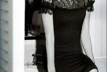 Beautiful female/Black&White