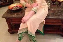 suit and saree awesome style