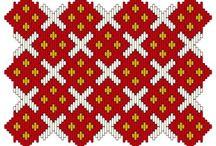 Embroidery - brick stitch patterns