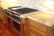 Kitchen Countertops / Create a Kitchen that suits your style. You can explore the trends and get inspired. Check out for trendy #KitchenCountertops. For any help contact Rock-Tops