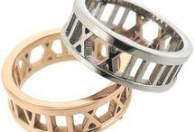 Colección de anillos de acero para este otoño/Invierno
