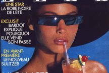 Sunglasses in Cover / Fashion magazine covers with iconic sunglaases / by Gafa Vintage