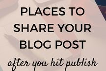Blogging / Need help with your blog? I use these pins for inspiration and help when creating new content for mine