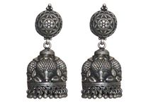 Long silver earrings online / Long silver earrings online are the perfect blend of tradition and modernity with exclusive design done by artisans from Rajasthani Villages.