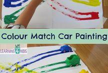Junior Kindy colour activities