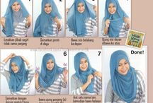 Tutorial Hijab. Love it!!! ;)