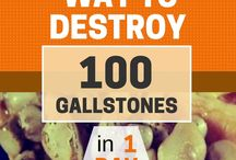 destry gallstones in 1 day