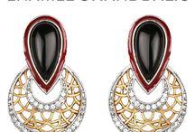 Chand Bali Jewellery / Exquisite collection of chandbali jewellery