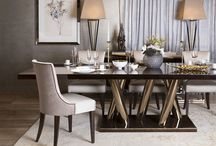 S&C  Dine / Featured here is a selection of luxurious dining furniture showcased in a number of prestigious locations in London. From cool contemporary apartments to lavishly adorned mansions and hotels; draw inspiration from carefully coordinated room sets and visualise our furniture in its element.    / by The Sofa & Chair Company