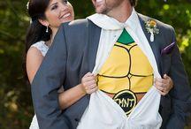 Ninja Turtle Themed Wedding