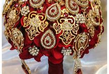 Indian Wedding Bridal Bouquets / Inspiration for bridal bouquets and bridesmaids bouquets!