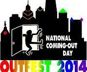 OutFest 2014 / Philly Pride's annual Block Party in the Gayborhood ~ the Largest celebration of National Coming Out Day in the world!    Photographers: Multiple