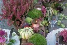 Herbsttischdeko