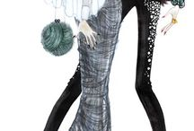 fashion illustration - Issa Grimm