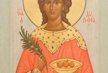 Iconografie Sfinte Femei-februarie