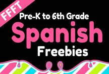 FFFT Spanish Pre-K to 6th / Spanish materials from pre-k to 6th grade.