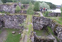 Castles of Finland / Ancient Castles of the Kings of Finland.