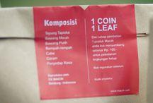 1 COIN 1 LEAF  / Program Pelestarian Lingkungan oleh Keluarga Maicih