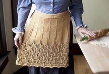 knitting : Avec des restes de laine
