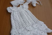 Christening Gown Crocheted / by Charlotte Saucier