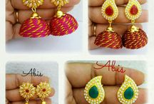Lace work jewellery