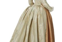 1780-1800 Transitional gowns