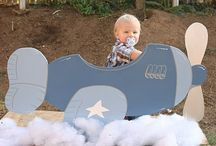Airplane Themed 3rd Birthday Party | Inspiration / Jet off to a darling airplane-themed birthday party!