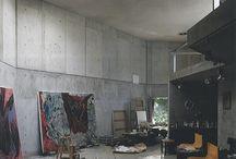 Ateliers - Ésèpe de Zélée / Studio spaces of painters or sculptors, with or without the artists. Imaginary encounters.