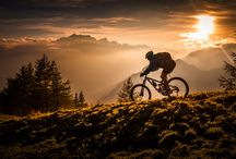 Men Mountain Biking