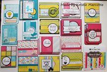 Papercraft - 6x6  DSP Inspiration