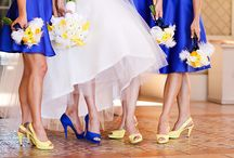 Azul y Amarillo / Ideas para una boda azul y amarillo