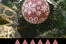 Beaded ornaments