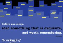 Quotes About Reading / The best quotes about reading, artfully illustrated for our fans and followers.
