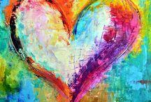 Hjerte maleri