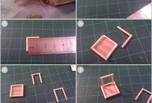 Paddle pop & matchsticks