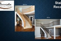 Our recap projects / Recaps done by Accurate Stairs & Railings  www.randellcarpentry.com