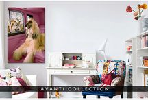 Avanti Interior Design / Our favorite rooms featuring Avanti wall art from icanvas.com