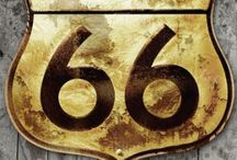 route 66 / by Patti Murphy
