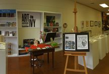 Charlottesville, VA / An office footprint in association with the Virginia Foundation for the Humanities and the Virginia Art of the Book Center.